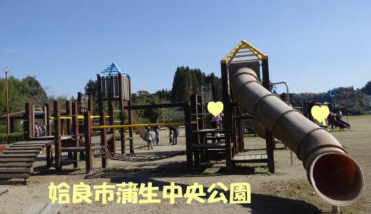 姶良市蒲生中央公園は、大人も子供も思いっきり体が動かせる公園です!
